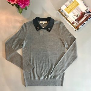 LOFT Collar Sweater